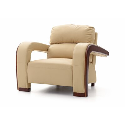 Troy Club Chair Upholstery: Beige
