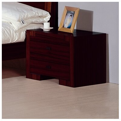 Maxim 2 Drawer Nightstand