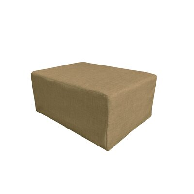 Caseville Convertible Ottoman Upholstery: Taupe