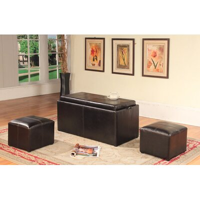 Clutton 3 Piece Coffee Table Set