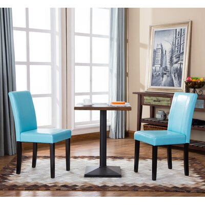 Camptown Parson Chair Upholstery: Blue