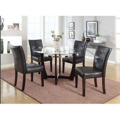 Brooker 5 Piece Dining Set