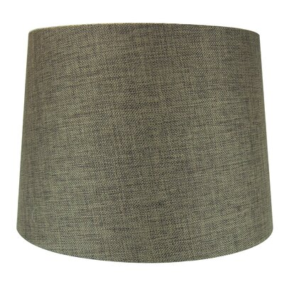 14 Metal Drum Lamp Shade Color: Chocolate Burlap