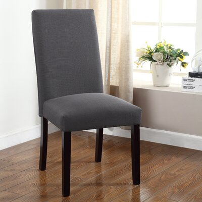 Metinaro Side Chair Upholstery: Stone Gray