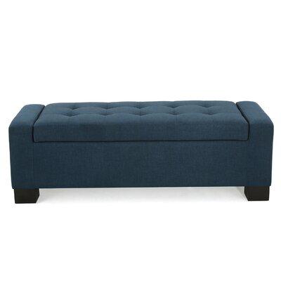 Kramer Storage Ottoman Upholstery: Dark Blue