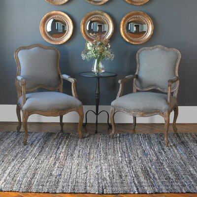Elmore Blue Gray Area Rug Rug Size: 8 x 10