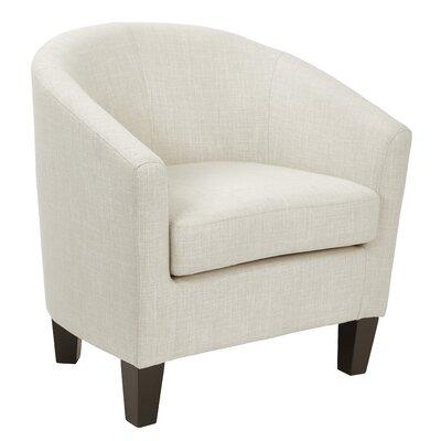 Filton Barrel Chair Upholstery: Linen