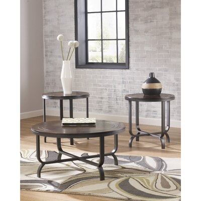 Wathen 3 Piece Coffee Table Set