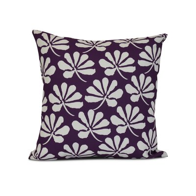 Allen Park Throw Pillow Size: 18 H x 18 W x 3 D, Color: Purple