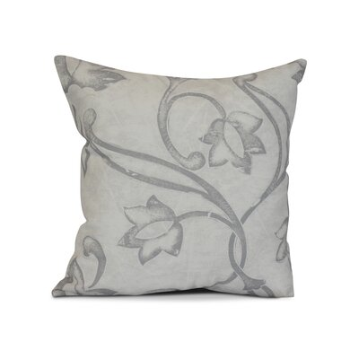 Allen Park Outdoor Throw Pillow Size: 18 H x 18 W x 3 D, Color: Gray