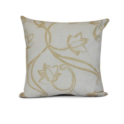 Allen Park Outdoor Throw Pillow Size: 18 H x 18 W x 3 D, Color: Brown