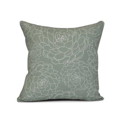 Allen Park Outdoor Throw Pillow Size: 20 H x 20 W x 3 D, Color: Green