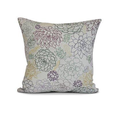 Allen Park Outdoor Throw Pillow Size: 16 H x 16 W x 3 D, Color: Purple