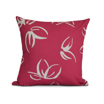 Allen Park Outdoor Throw Pillow Size: 20 H x 20 W x 3 D, Color: Red