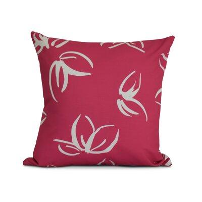 Allen Park Throw Pillow Size: 20 H x 20 W x 3 D, Color: Pink