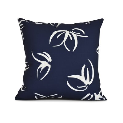 Allen Park Throw Pillow Size: 16 H x 16 W x 3 D, Color: Navy Blue
