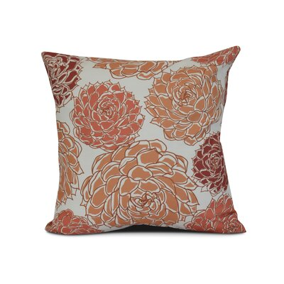 Allen Park Outdoor Throw Pillow Size: 16 H x 16 W x 3 D, Color: Orange
