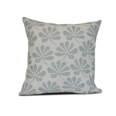 Allen Park Outdoor Throw Pillow Size: 18 H x 18 W x 3 D, Color: Light Blue