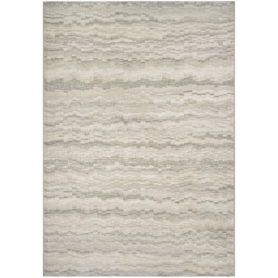 Lou Earthtones/Taupe Area Rug Rug Size: Rectangle 53 x 76