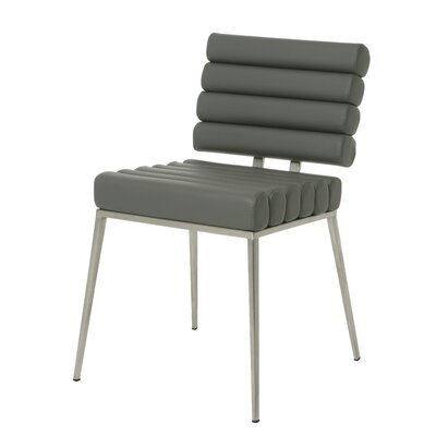Candlewood Side Chair Upholstery: Gray