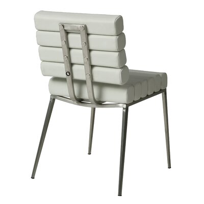 Candlewood Side Chair Upholstery: Ivory