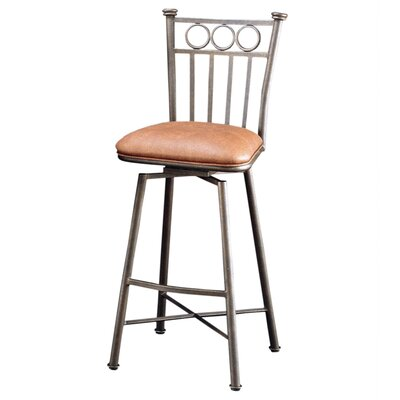 Miramar 26 Swivel Bar Stool Upholstery: Shandora Toast