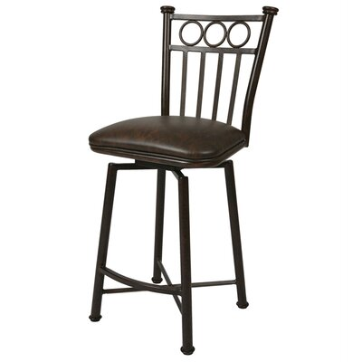Miramar 30 Swivel Bar Stool Upholstery: Florentine Coffee