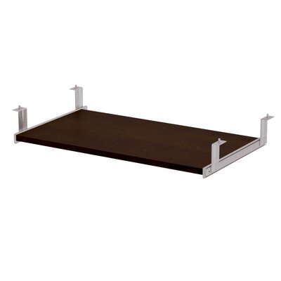 Ralph 2.8 H x 26.4 W Desk Keyboard Tray Finish: Dark Chocolate