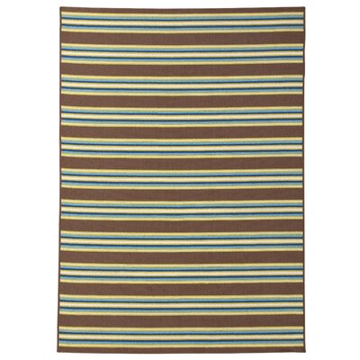 Avery Brown Indoor/Outdoor Area Rug Rug Size: 710 x 1010