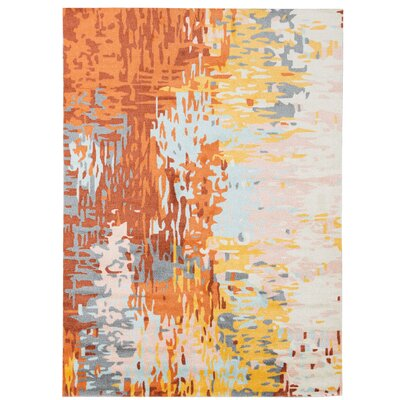 Webster Orange/Yellow Area Rug