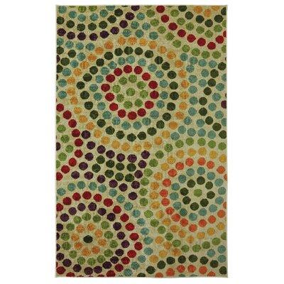 Cragmere Mosaic Stones Blue/Green Area Rug