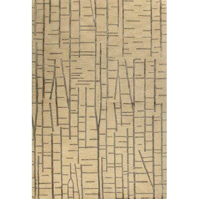 Edenton Hand-Tufted Ivory Area Rug Rug Size: 39 x 59