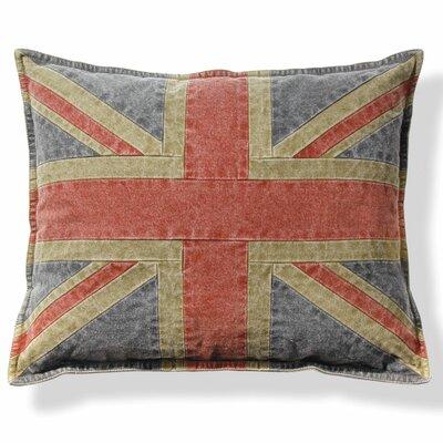 Croydon Union Jack Cotton Throw Pillow (Set of 2)