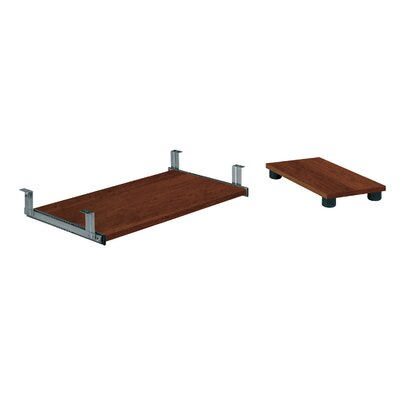 Lexington 28 H x 26.4 W Desk Keyboard Tray Finish: Tuscany Brown