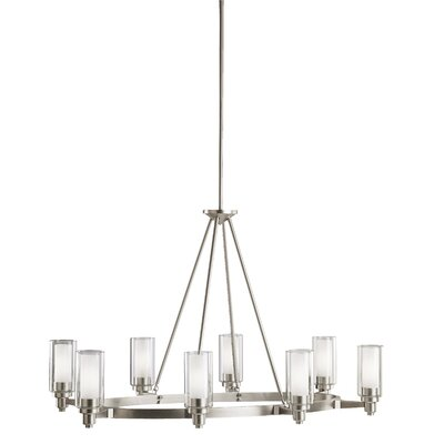 Styx 8-Light Shaded Chandelier