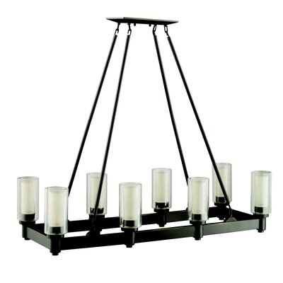 Styx 8-Light Kitchen Island Pendant Finish: Olde Bronze