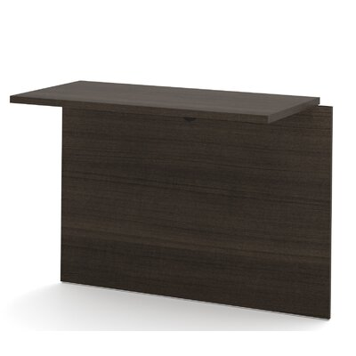 Lexington 30.4 H x 38.5 W Desk Bridge Finish: Dark Chocolate