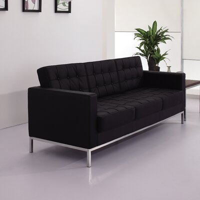 Latitude Run Pyron Leather Sofas