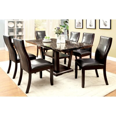 Leo Minor 7 Piece Dining Set