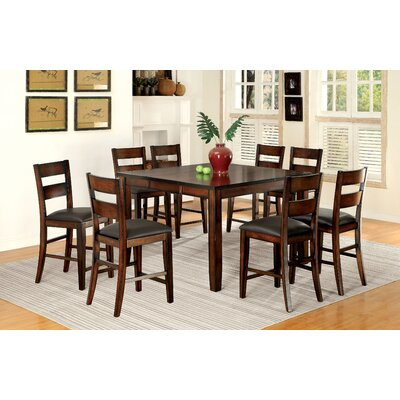 Maliana 7 Pieces Pub Table Set