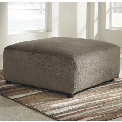 Ossu Cocktail Ottoman Upholstery: Brown