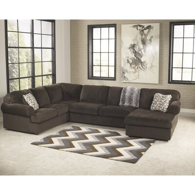 Ossu Sectional Upholstery: Chocolate