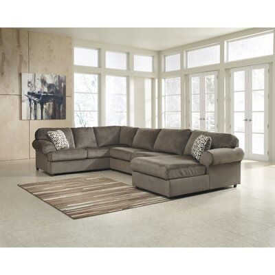 Ossu Sectional Upholstery: Brown