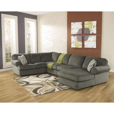Ossu Sectional Upholstery: Gray Green