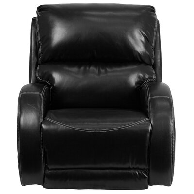 Cephei Manual Rocker Recliner Upholstery: Black