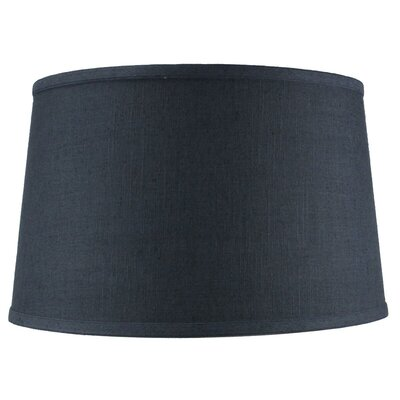 16 Shantung Fabric Drum Lamp Shade Color: Slate Blue