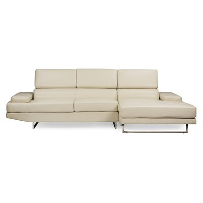 Trower Sectional Upholstery: Pearl