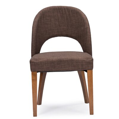 Ursae Genuine Leather Upholstered Dining Chair