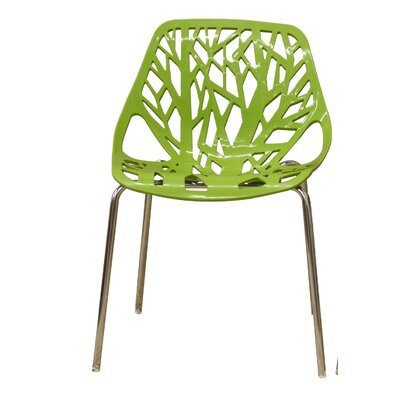 Ahumada Side Chair Finish: Green