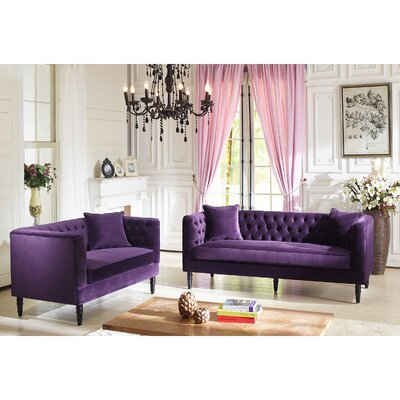 Yates 2 Piece Living Room Set